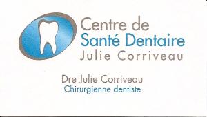 Centre de Santé Dentaire Julie Corriveau recto-1