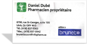 DANIEL DUBE - BRUNET