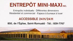 Entrepôt Mini-Maxi Inc