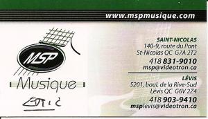 MSP  MUSIQUE ( prêt de matériel)