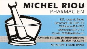 Michel Riou pharmacien (Familiprix)