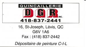 Quincaillerie DGR Inc