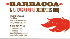 Barbacoa , L'Authentique MEMPHIS BBQ