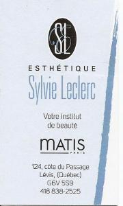 Esthétique Sylvie Leclerc Institut Matis