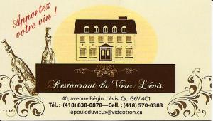 Restaurant du Vieux Lévis