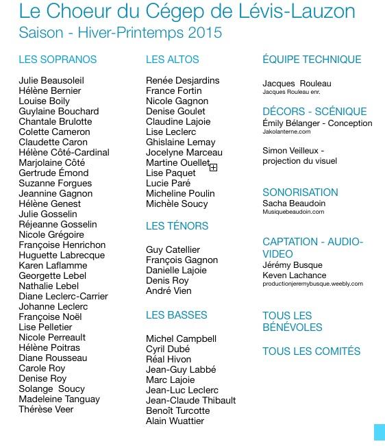 Choristes - mai 2015 - copie